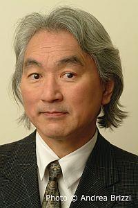 Michio Kaku portrait shot